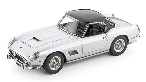 1961 Ferrari 250 GT SWB California Spyder Silver 1/18 by CMC