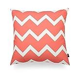 Hofdeco Decorative Throw Pillow Cover PREMIUM Canvas Coral...