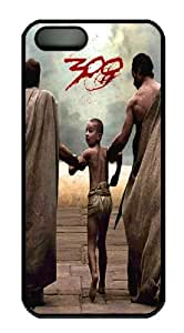 300 Rise of an Empire PC Case Cover For iPhone 5 And iPhone 5S Black