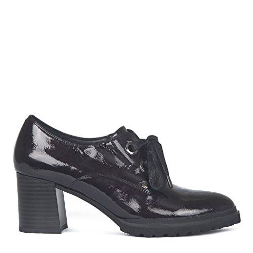 Tj Charol Vlp Para Oscuro Collection Mujer Rojo De Zapatos Gf Cordones 5255917 Granate Tw1qTr