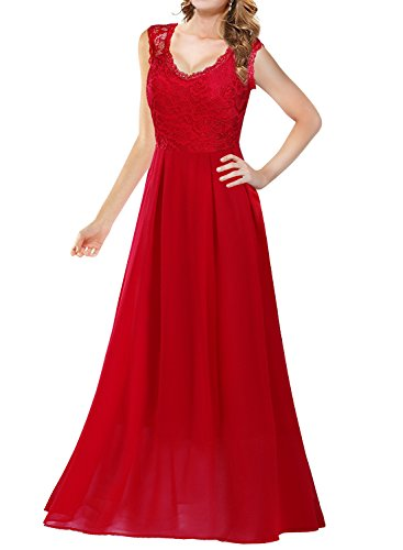 Arolina Women's Formal Floral Lace Vintage Wedding Evening Party Dresses