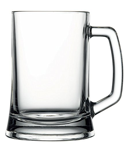 Hospitality Glass Brands 55129-024 Handled Mug, 16.75 oz. (Pack of (Handled Beer)