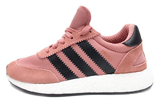 buy best selling exquisite style adidas Iniki Runner Womens in Raw Pink/Core Black by, 9.5