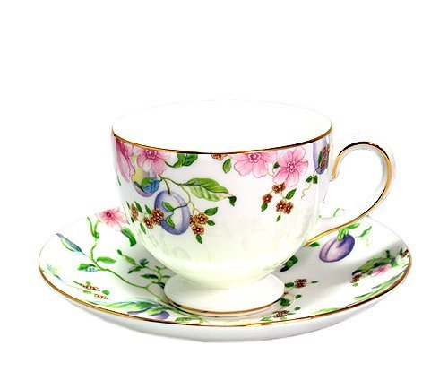 Wedgwood Sweet Plum - Wedgwood ( Wedgwood ) Sweet Plum tea cup and saucer Lee [ parallel import goods ] by Wedgwood