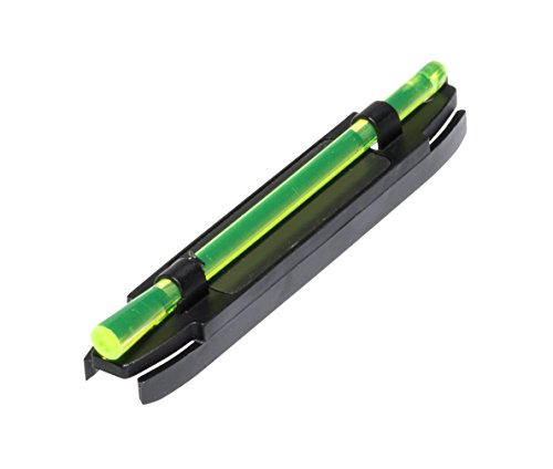 Hi-Viz Narrow Magnetic Shotgun Sight - Green by Hi-Viz