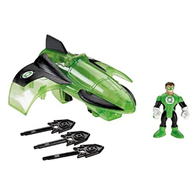 Fisher-Price Imaginext DC Super Friends, Green Lantern Jet: Toys & Games