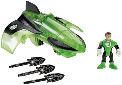 Batman – r5514 – Figur – Fahrzeug Batman Imaginext – Green Lantern Jet
