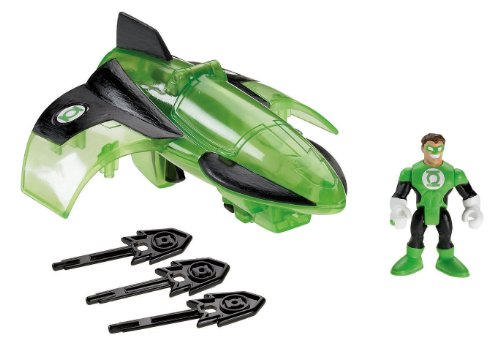 Super Friends Green Lantern (Fisher-Price Imaginext DC Super Friends, Green Lantern Jet)