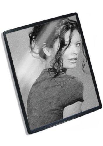 CATHERINE ZETA JONES - Original Art Mouse Mat #js005