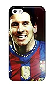 Barbara Anthony Snap On Hard Case Cover Beautiful Lionel Messi Barcelona Protector For Iphone 5/5s by runtopwell