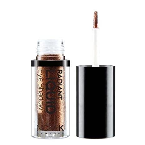 Nicka K Radiant Liquid Shadow, Earthly Bronze, 5g