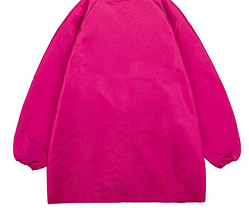Goodscene Creative Apron M-Children Pure Color Adjustable Painting Rose Red Apron-Does Not Include Hangers by Goodscene