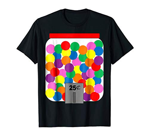 Gumball Machine Halloween Costume T-Shirt | Easy -