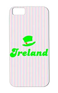 Holidays Occasions St Patricks Day Hat Party Funny Irish St. Patrick's Day Ireland Green Protective Case For Iphone 5c TPU