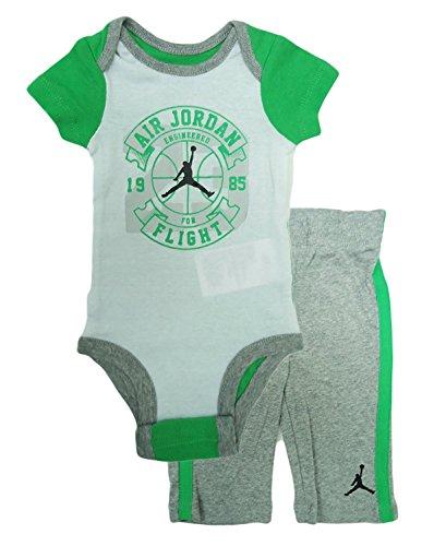 Nike Air Jordan Engineered für Flight Body und Pants Set Dk Gry Hthr
