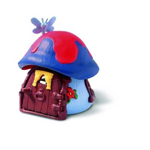 Mushroom Smurf (Schleich Smurfs Cottage, Blue)