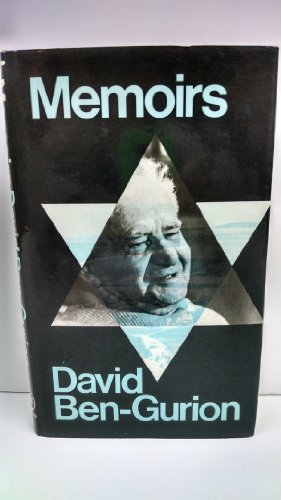 Memoirs: David Ben-Gurion