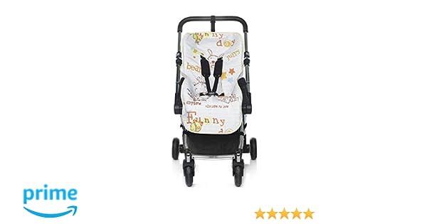 Jané 080270SL T19 - Colchoneta para silla de paseo, Color Drawing