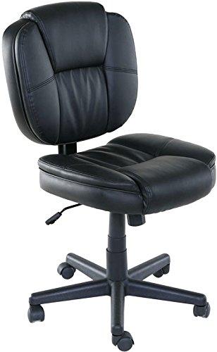 OneSpace Basics Mid-Back Plush Task Chair, Tilt & Height Adjustment by OneSpace
