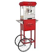 BULLSEYE 4oz Popcorn Machine with Cart