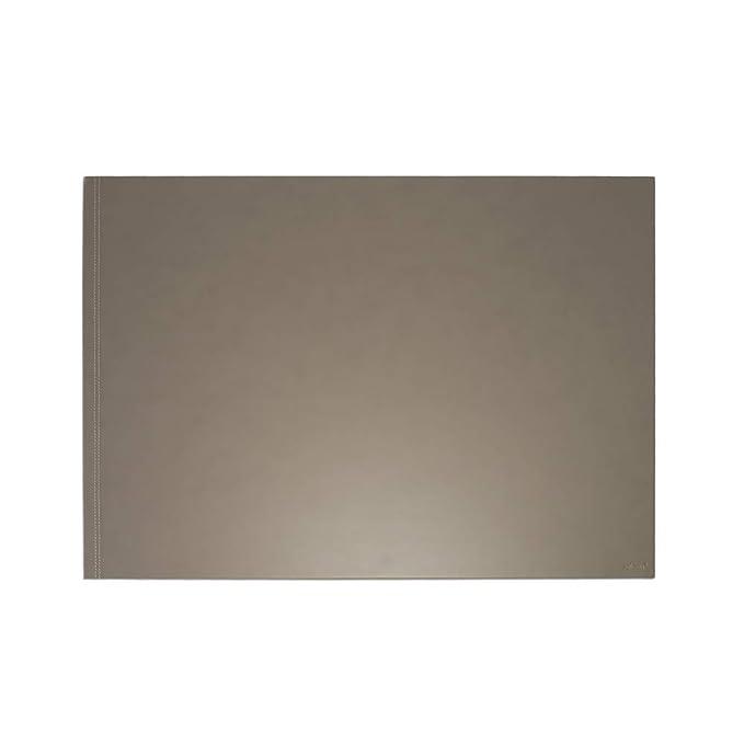 Eglooh - Clio - Protector Mesa Escritorio en Cuero Negro cm 90x60 ...