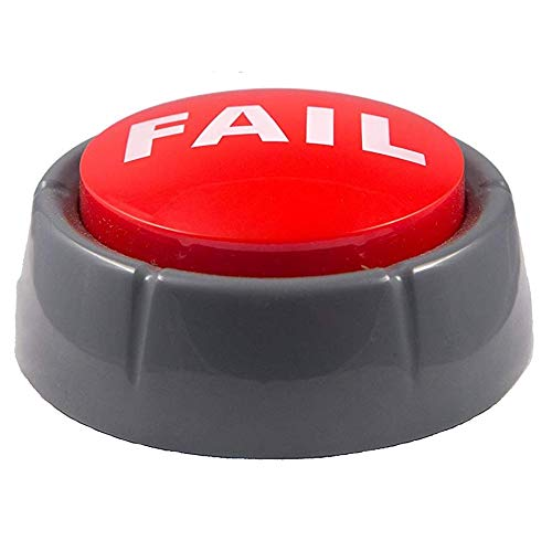 Epic Fail Button | Sad Trombone Sound Effect Button (Batteries Included) by Sound RX (Image #1)