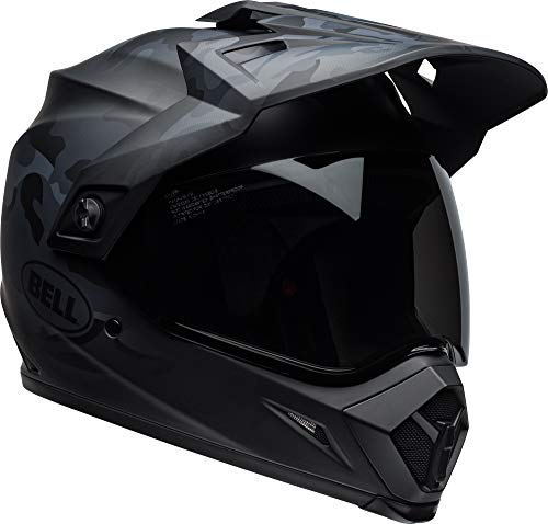 Bell MX-9 Adventure MIPS Full-Face Motorcycle Helmet (Stealth Matte Black Camo, X-Large)