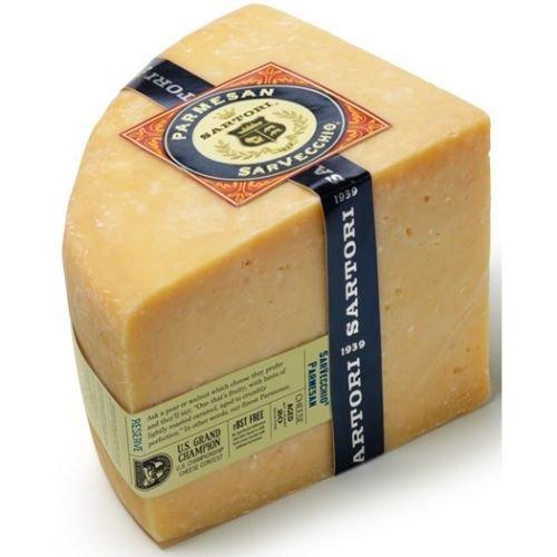 Sartori Reserve SarVecchio Quarter Wheel Parmesan Cheese, 5 Pound -- 4 per case. by Sartori (Image #1)