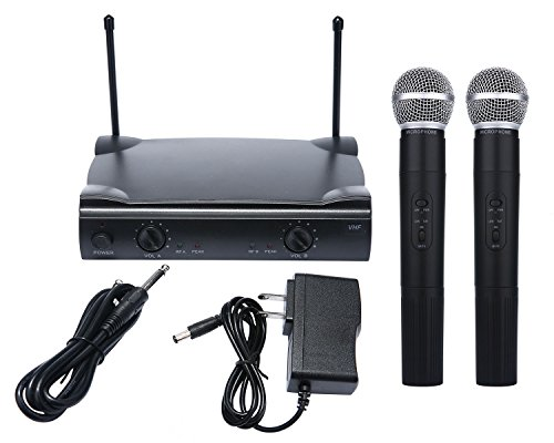 4 Wireless Mic System Case (Pro Dual Wireless Cordless Microphone System & Wireless UT4 Type MIC for SHURE)