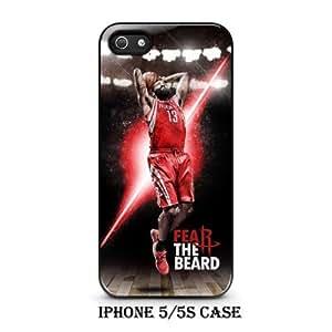 James Harden Houston Rockets Basketball Team Custom Black Iphone Case Cover (iPhone 5/5s)