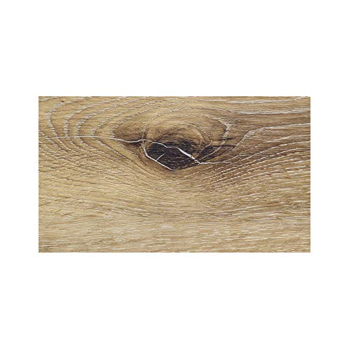 (Elegant Vinyl Plank Flooring - Interlocking Floating Planks in Helena - 4in x 7in Sample - from The Ascent Collection by Finesse Floors)