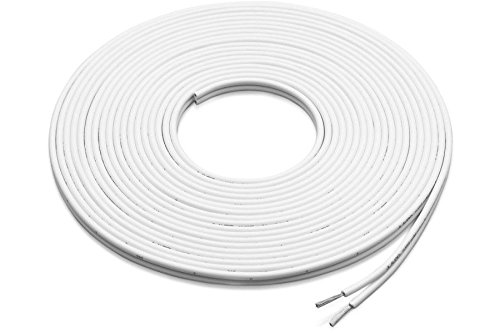 Amazon.com: Speaker Wire 100 Feet 12 Gauge White Marine 2 Conductor ...