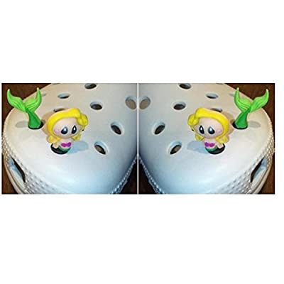 Charms 3D X 2 Shoe Crocodile for Croc Shoes & Bracelet Wristband Toys Party Gifts: Toys & Games