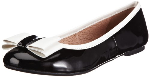 Buffalo PU 01 PATENT 211 London Black Damen 132235 Ballerinas Schwarz 6799 1 XxCrgxO