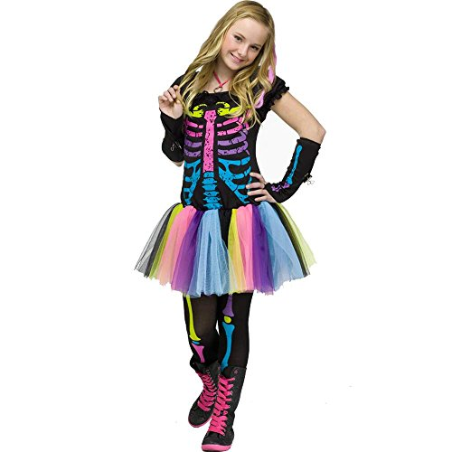 Funky Punk Bones Costume Junior 0
