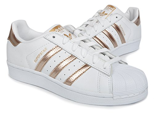 W Basses Femme Gold Adidas Sneakers Superstar Rose UqR5A78