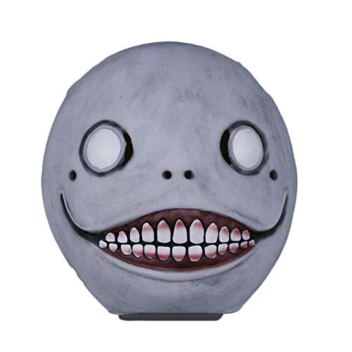 Emil Automata Game Neil Mechaniczne Wiek Emil Mask Czapka Cosplay Halloween Party Masks Party Maska Diabla Terror Automata -