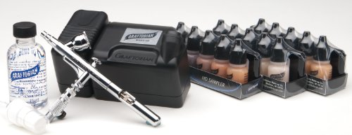 Graftobian Walk-Around Airbrush System (Glamaire Black)