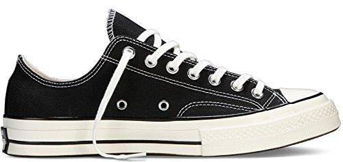 Converse Unisex Chuck Taylor All Star Low Top Black Sneakers - 9.5 B(M) US Women / 7.5 D(M) US Men