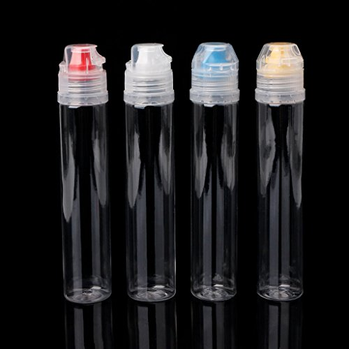 Milue Kitchen Plastic Squeeze Bottle Condiment Dispenser For Salad Sauce Ketchup Honey by Milue (Image #3)