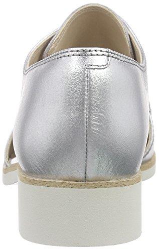 Clarks Hamble Myth - Zapatos de cordones derby Mujer Plata (Silver Metallic)