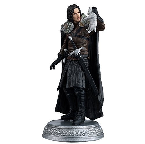 Winterfell HBO Game Of Thrones Eaglemoss Figurine Collection #13 Jon Snow Figure