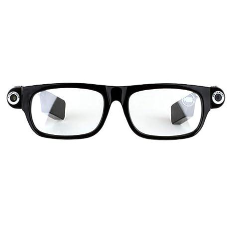 OOLIFENG Gafas De Cámara Espía Full HD 720P Gafas Ocultas con Videocámara Mini DV Grabadora De