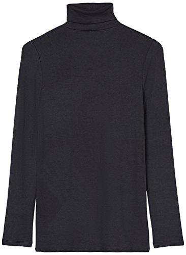 FIND Lunga Shirt a Schwarz T Nero Donna Manica axParUwq4