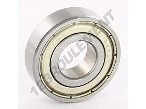 NSK - Roulement a Billes 6203-ZZ-NSK - 17x40x12 mm