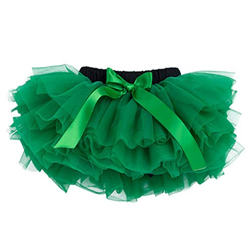 belababy 0-24 Months Baby Girl Green Pp Tutu for Christmas