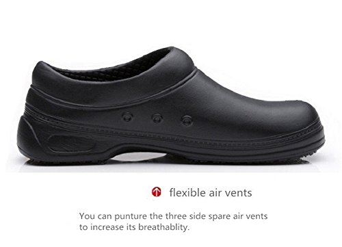 INiceslipper Unisex Chef Schuhe Rutschfeste Sicherheitsschuhe Öl Wasserdicht Lässig Wohnungen Strand Schuhe