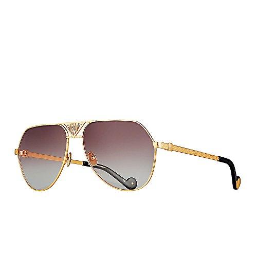 Anna-Karin Karlsson Gold The Art Deco - Karin Anna Sunglasses