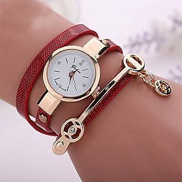 Fashion Watches Relojes Hermosos, Cuero del Estilo del Verano Mujeres Relojes Pulsera Informal Reloj de
