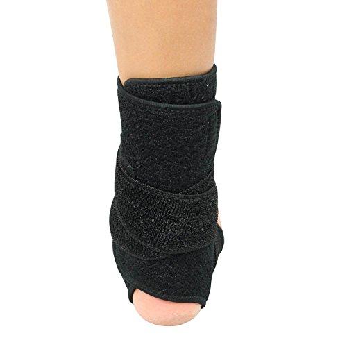 Ankle Stabilizer Brace Splint Compression Gel Support Wrap